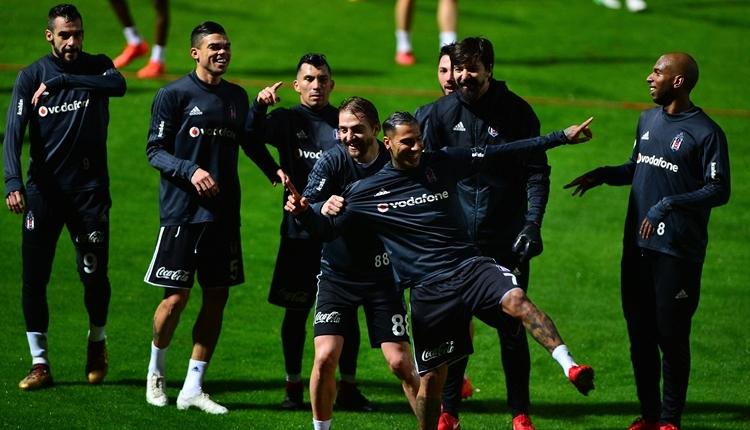 Beşiktaş'ta Süper Lig gibi idman maçı