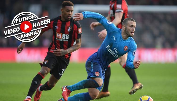 Bournemouth 2-1 Arsenal maçı özeti ve golleri (İZLE)