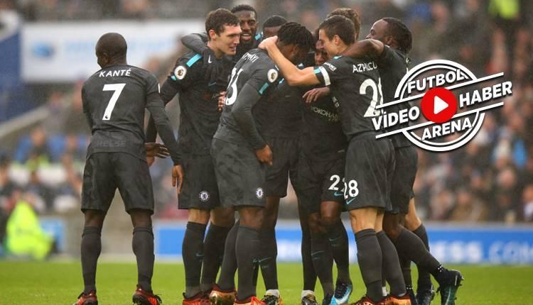 Brighton 0-4 Chelsea maçı özeti ve golleri (İZLE)