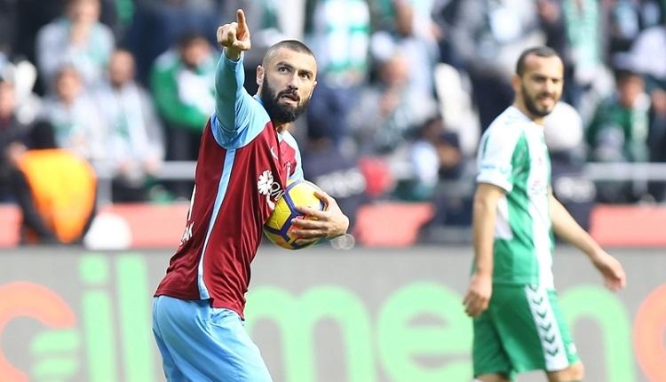Burak Yılmaz'dan Konyaspor taraftarlarına sert tepki
