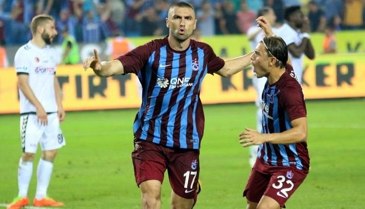 Burak Yılmaz'ın sakatlığı için Trabzonspor'dan açıklama