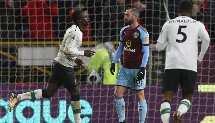 Burnley 1-2 Liverpool maç özeti ve golleri