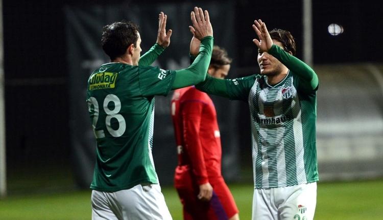 Bursaspor 3-2 Altınordu maç özeti ve golleri