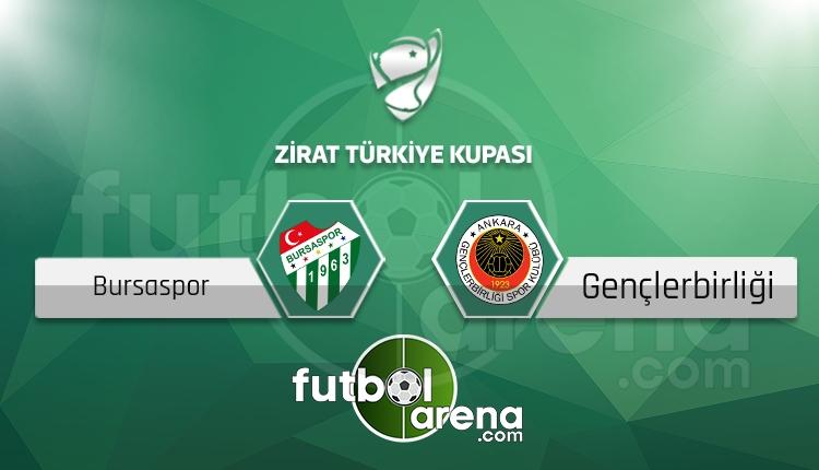 Bursaspor - Gençlerbirliği maçı saat kaçta, hangi kanalda? (İddaa Canlı Skor)