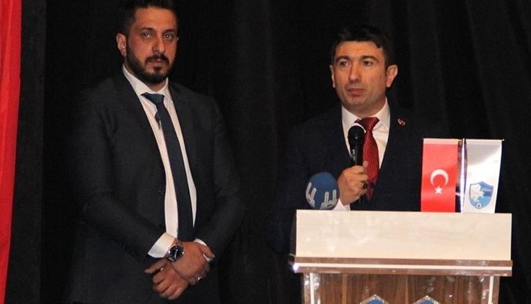 Büyükşehir Belediye Erzurumspor'un yeni başkanı Mevlüt Doğan