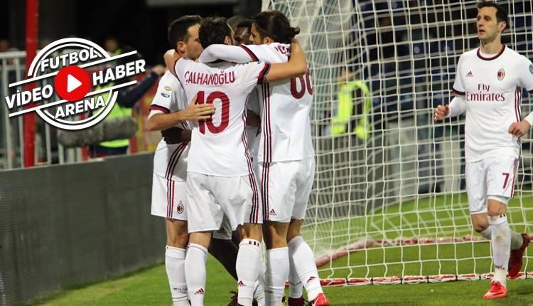 Cagliari 1-2 Milan maçı özeti ve golleri (İZLE)