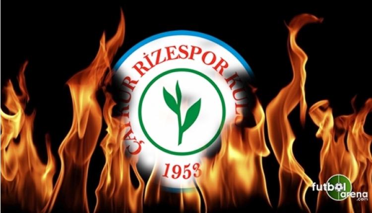 Çaykur Rizespor'dan menajerlere transfer tepkisi