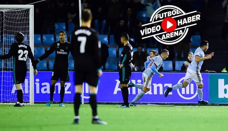 Celta Vigo 2-2 Real Madrid maçı özeti ve golleri (İZLE)