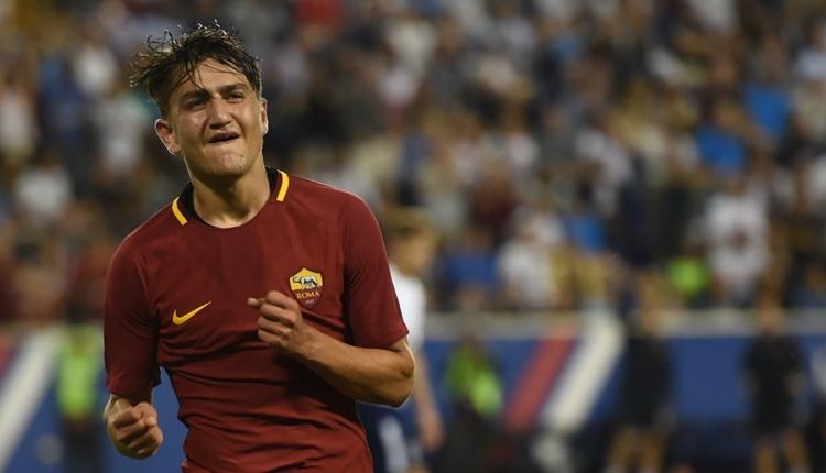 Cengiz Ünder, Roma'da yılın genç oyuncusu seçildi