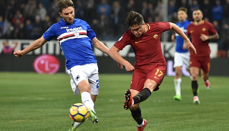 Cengiz Ünder, Sampdoria - Roma maçında nasıl oynadı? (İZLE)