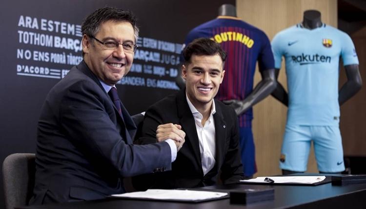 Coutinho, Barcelona'ya imza attı! 'Rüyam gerçekleşti'