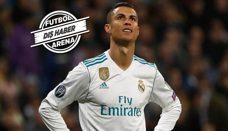Cristiano Ronaldo'ya Real Madrid taraftarlarından büyük şok