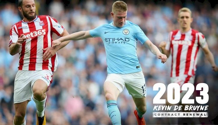 De Bruyne, Manchester City ile sözleşme uzattı!