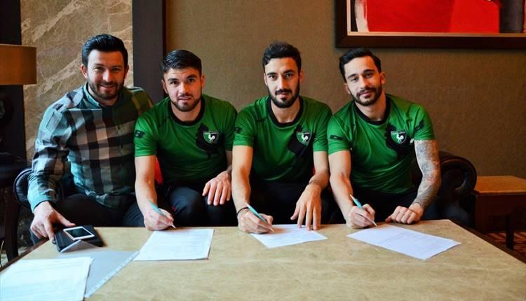 Denizlispor'da üç transfer birden
