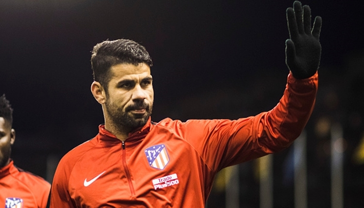 Diego Costa, Atletico Madrid ile ilk maçında gol attı (İZLE)