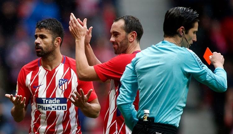 Diego Costa'dan La Liga'ya olaylı dönüş! Gol sevincinde kırmızı kart gördü