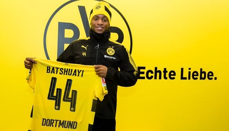 Dortmund, Michy Batshuayi'yi kiraladı