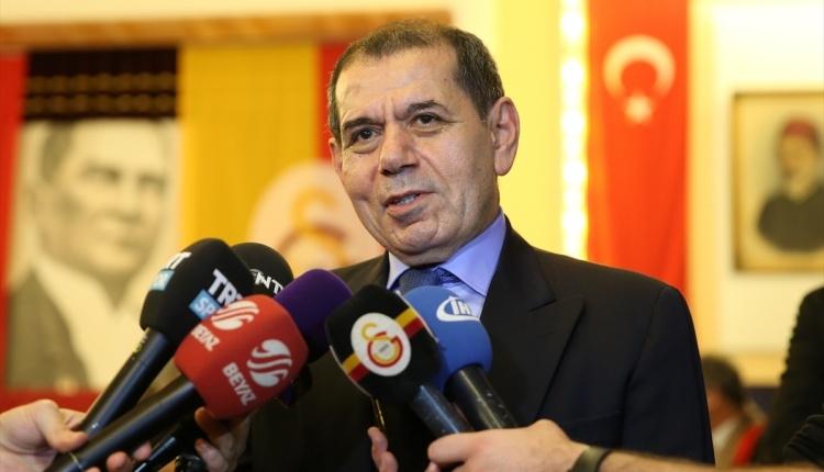 Dursun Özbek: ''Güzel bir seçim olacağını ümit ediyorum''