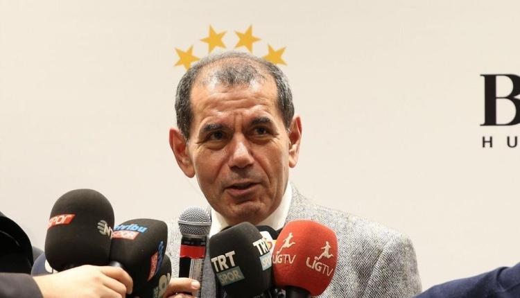 Dursun Özbek'ten seçim açıklaması