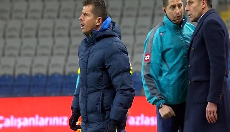 Emre Belözoğlu'ndan hakeme şok sözler! Başakşehir - Giresunspor maçında...