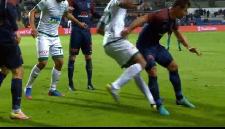 Emre Belözoğlu'ndan Giresunspor maçında rakibe çok sert faul! Tepki çekti! (İZLE)