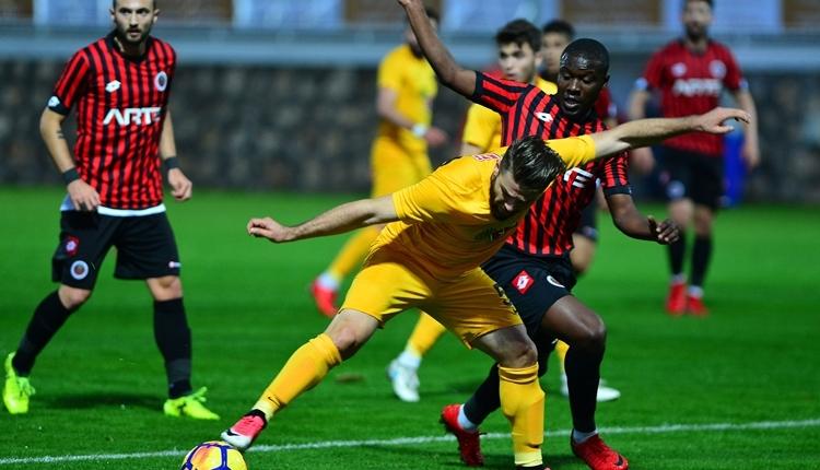 Eskişehirspor 2-1 Gençlerbirliği hazırlık maçı özeti ve golleri