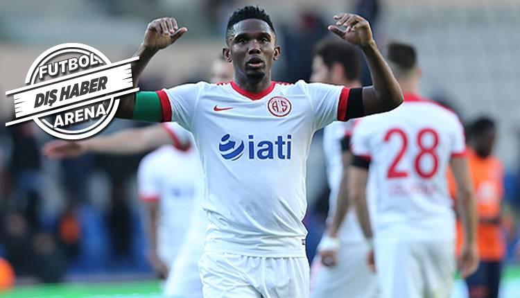 Eto'o Antalyaspor'dan ayrılmak istiyor!