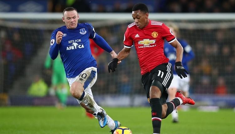 Everton 0-2Manchester United maç özeti ve golleri