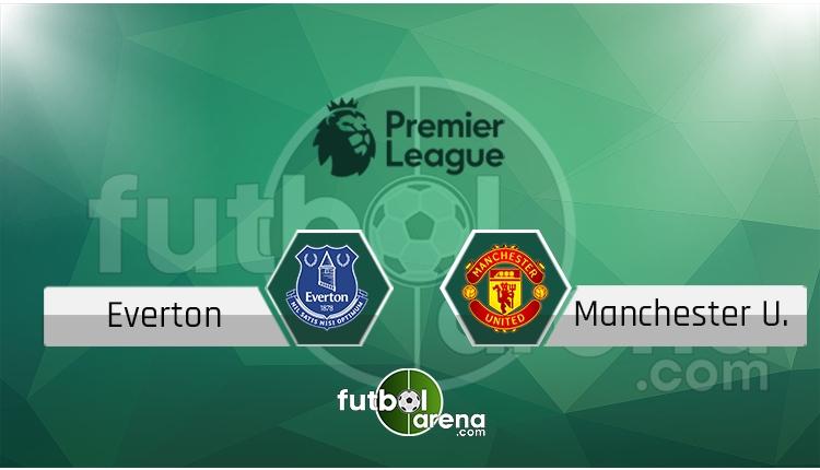 Everton - Manchester United maçı saat kaçta, hangi kanalda? (İddaa Canlı Skor)