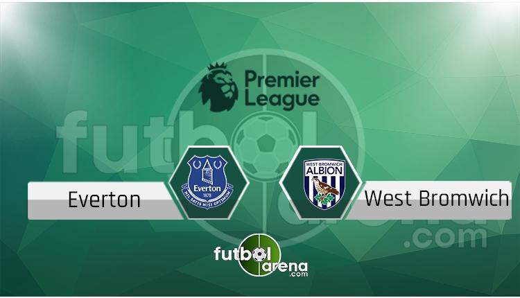 Everton - West Bromwich maçı saat kaçta, hangi kanalda? (İddaa Canlı Skor)