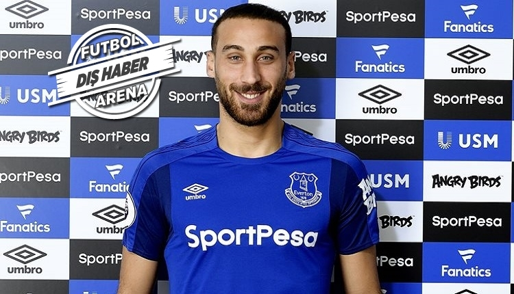 Everton'da Cenk Tosun ilk maçına çıkıyor