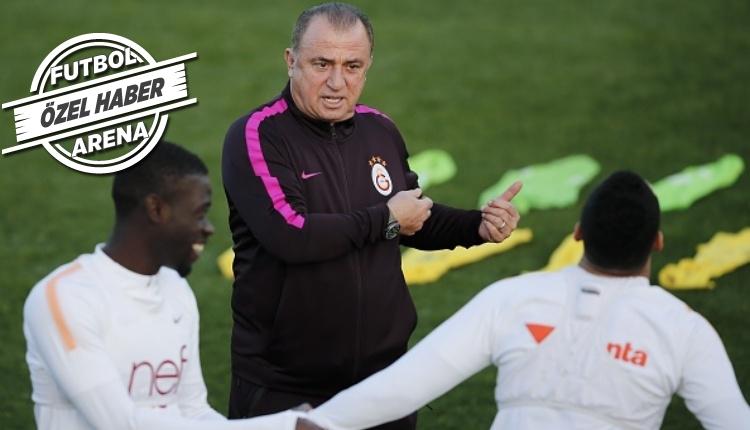 Fatih Terim antrenmanı Türk Telekom Stadyumu'na aldırdı
