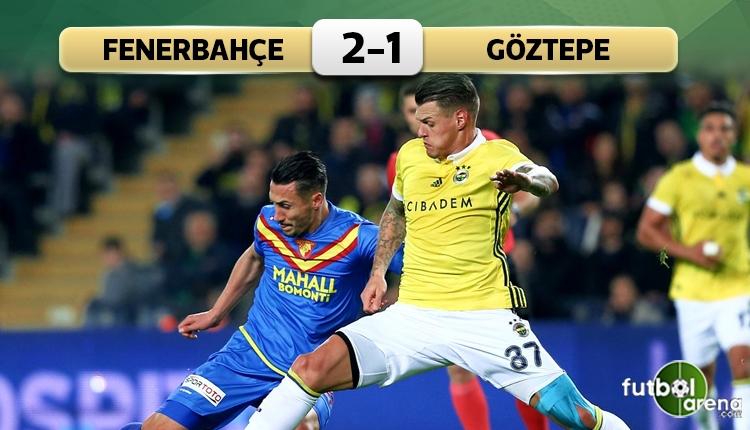 Fenerbahçe 2-1 Göztepe maç özeti ve golleri (İZLE)