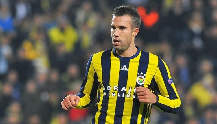 Fenerbahçe'de Robin van Persie'nin sözleşmesi feshedildi
