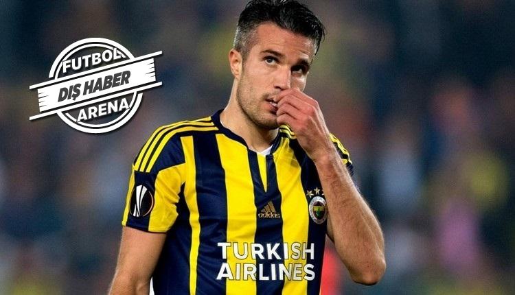 Fenerbahçeli Van Persie için Hollanda'dan ilginç yorum!