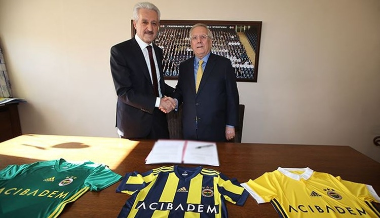 Fenerbahçe'nin forma sponsoru Acıbadem oldu