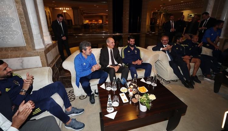 Fenerbahçe'ye Kültür Bakanı Numan Kurtulmuş'tan ziyaret
