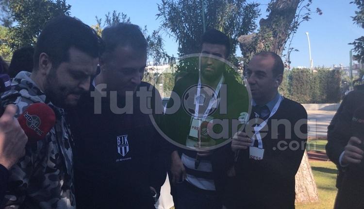 Fikret Orman'dan Antalya kampında açıklamalar: 'Oyuncular satılacak eşya değil