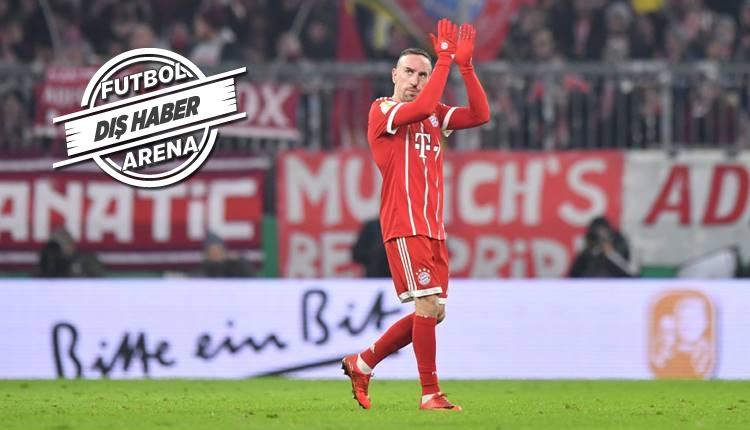 Frank Ribery'den transfer iddialarına cevap