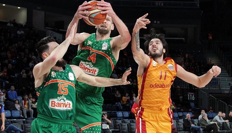 Galatasaray Odeabank evinde Banvit'ten fark yedi