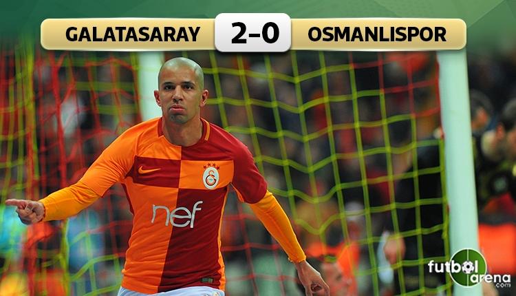 Galatasaray 2-0 Osmanlıspor maç özeti ve golleri (İZLE)