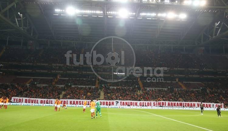 Galatasaray - Osmanlıspor maçı seyirci sayısı