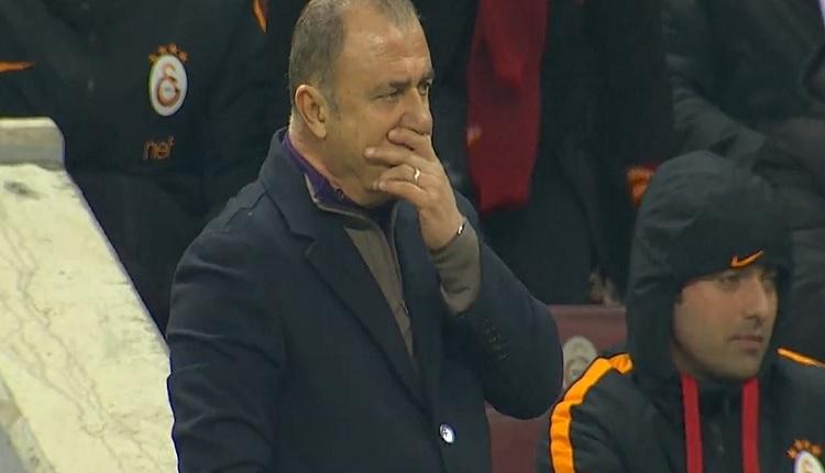 Galatasaray - Osmanlıspor maçında müthiş anlar! Fatih Terim...