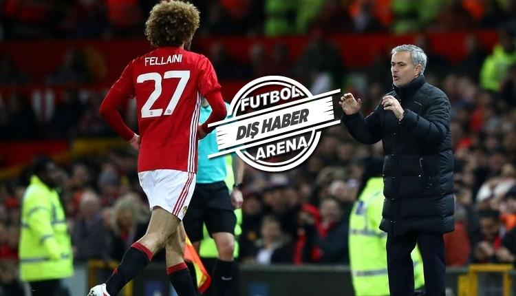 Galatasaray'a yazılan Fellaini için Mourinho'dan itiraf
