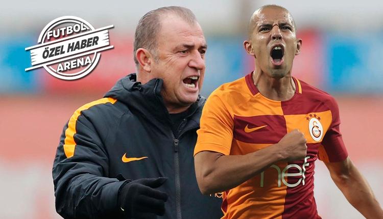 Galatasaray'da Fatih Terim'den Feghouli'ye fırça
