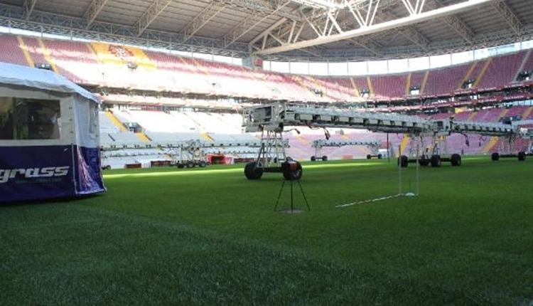 Galatasaray'dan hibrit çim açıklaması! Türk Telekom Stadyumu haftaya hazır