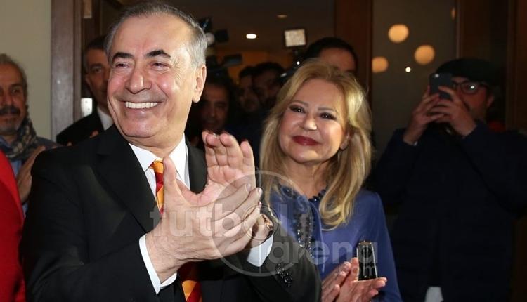 Galatasaray'ın yeni başkanı Mustafa Cengiz, zaferini cemiyette kutladı