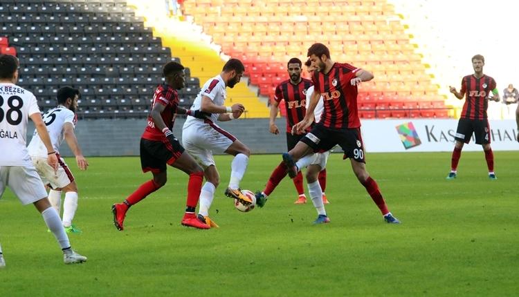 Gaziantepspor 0-4 Gazişehir Gaziantep maç özeti ve golleri (İZLE)