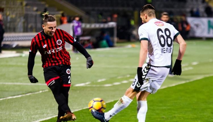 Gençlerbirliği 2 - 1 Atiker Konyaspor maçın özeti ve golleri