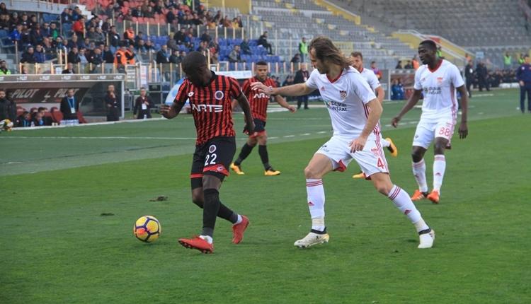 Gençlerbirliği 4-1 Sivasspor hazırlık maçı özeti ve golleri